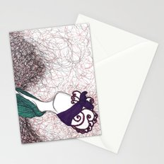 Big Hair Thick Smoke Stationery Cards