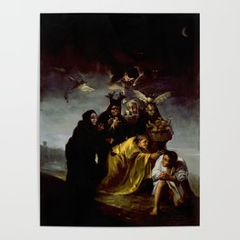 THE WITCHES SPELL - FRANCISCO GOYA Poster