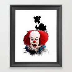 Pennywise the Clown: Monster Madness Series Framed Art Print
