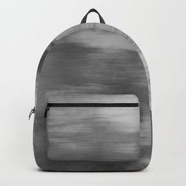 Smokey Mist (Gray) Illustration, Digital Watercolor Camo Blend - Fluid Art Backpack