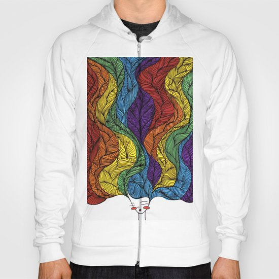 Rainbow Hair Hoody