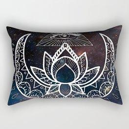Lunar Eye Rectangular Pillow