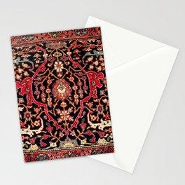 Bijar Poshti Kurdish Northwest Persian Rug Print Stationery Cards