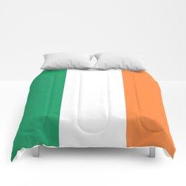 Irish Tricolour Green Orange and White Irish Flag Comforters