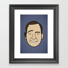 Faces of Breaking Bad: Saul Goodman Framed Art Print