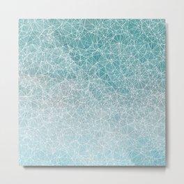 Polygonal A3 Metal Print