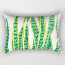 snake plant Rectangular Pillow