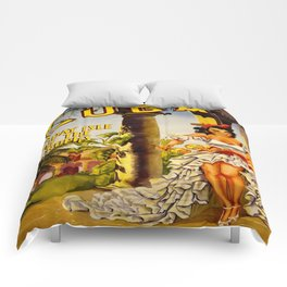 Cuba Holiday Isle of the Tropics Comforters