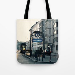 Subway 3 Tote Bag