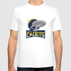 Starfleet Cadets White SMALL Mens Fitted Tee