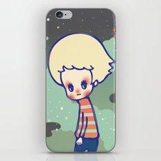displaced person iPhone & iPod Skin