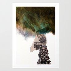 The Rut Art Print