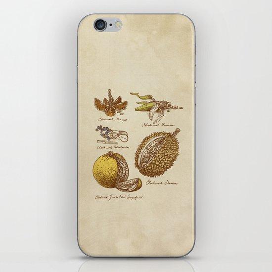 Steampunk Fruit  iPhone & iPod Skin