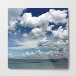 I have a blue sky inside me! Metal Print