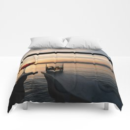 Wine and Whiskey Eve Comforters