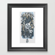 SOA Framed Art Print