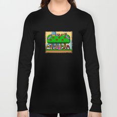 Super Mario World Happy Ending Long Sleeve T-shirt