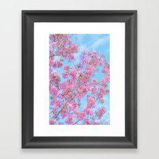 Bright and Happy Framed Art Print