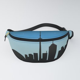 Toronto Skyline - Night Fanny Pack