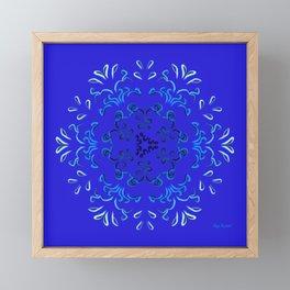 """Hakakā a hohonu"" (lucha profunda) Framed Mini Art Print"