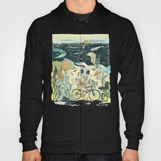 Cycling in the Deep Hoody