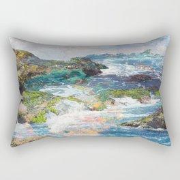 Coastlines Rectangular Pillow