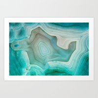 minimal Art Prints featuring THE BEAUTY OF MINERALS 2 by Catspaws