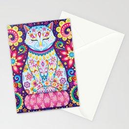 Zen Cat Stationery Cards