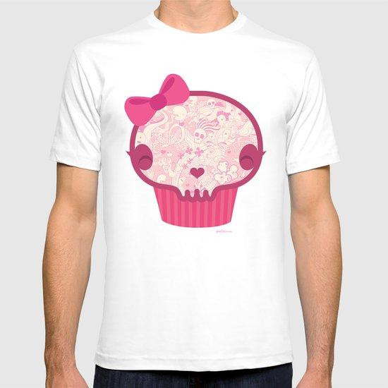Cupcake Skull T-shirt