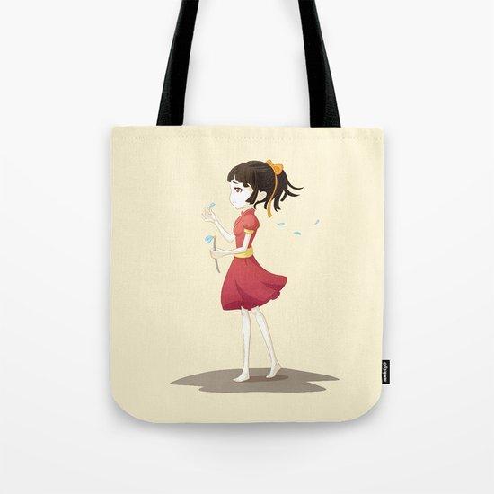Loves me not Tote Bag
