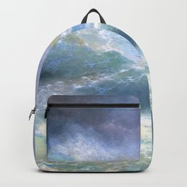 Ivan Aivazovsky - Wave - Digital Remastered Edition Backpack
