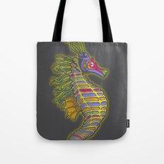 Crayon Pony Fish Tote Bag