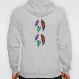 Feather Collection Pattern Hoody