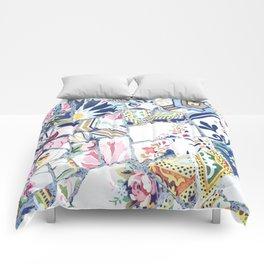 Gaudi Park Guell Mosaic Comforters