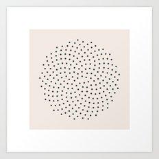 #20 Golden Angles  Art Print