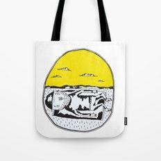 Sleeping man Tote Bag