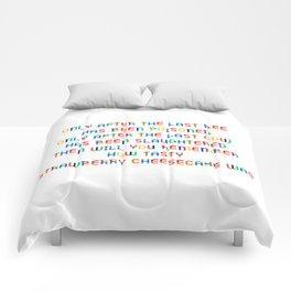 The last Bee Comforters