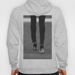 Excess Black and White Hoody