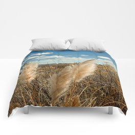 Autumn Sea Oats Comforters