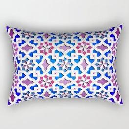 Beautiful oriental flower pattern 9 Rectangular Pillow