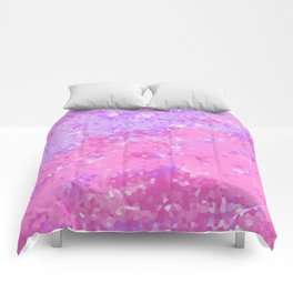 Pink and Purple Crystal Comforters