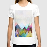 mountain T-shirts featuring Graphic 104 by Mareike Böhmer