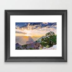 Grand morning Arizona! Framed Art Print