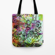 The drugs began to take hold Tote Bag