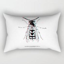 Vespula Germanica (german wasp) Rectangular Pillow
