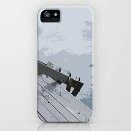 Cottage Dock iPhone Case