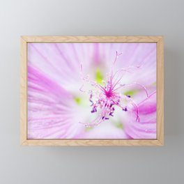 Purple Flower Framed Mini Art Print