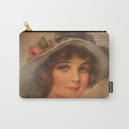 Vintage Lady 02 Carry-All Pouch