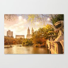 New York City Autumn Landscape Canvas Print