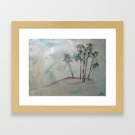 """Private spot"" Framed Art Print"